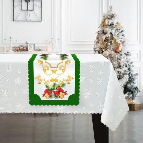 Bieżnik świąteczny na Boże Narodzenie D549-834wp