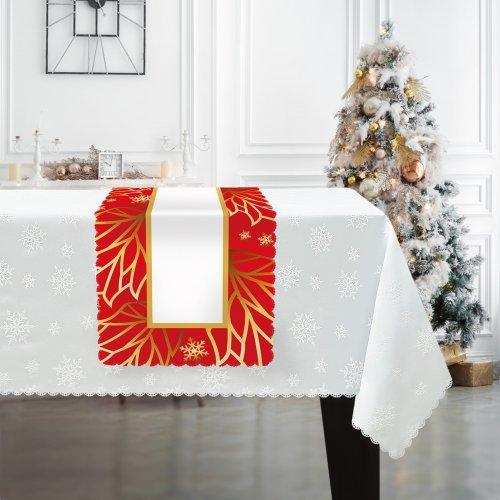 Bieżnik świąteczny na Boże Narodzenie D549-835wp