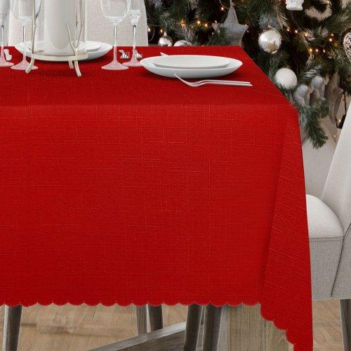 Obrus Plamoodporny Premium Ultra 414-12 czerwony