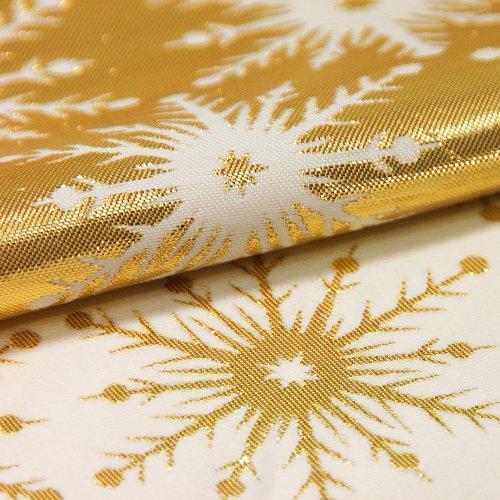 Bieżnik na stół plamoodporny GALAXY STAR GOLD 299-63 złoty