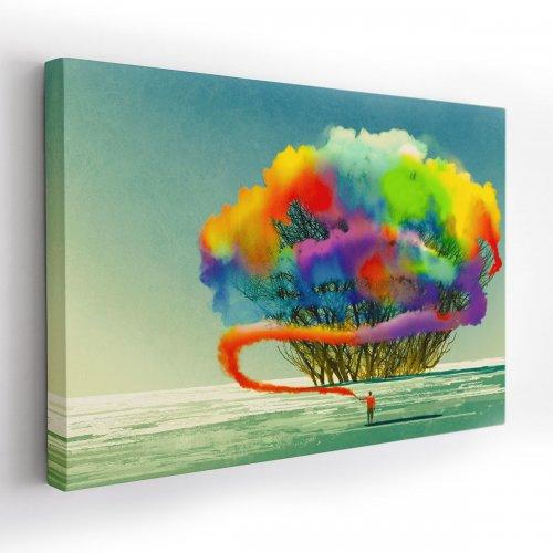 Obraz na płótnie CANVAS 120x80 A176 Świat kolorowy