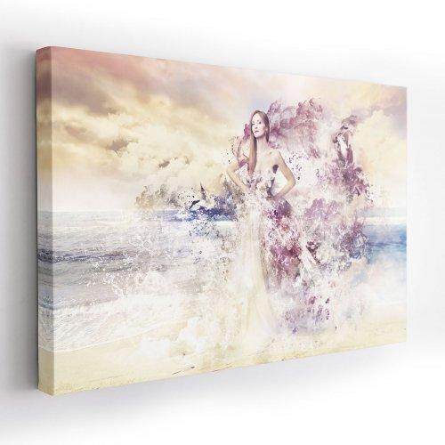 Obraz na płótnie CANVAS 120x80 A178 Bogini morza