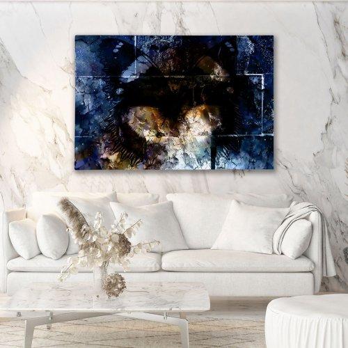 Obraz na płótnie CANVAS 120x80 A182 Mroczny motyl