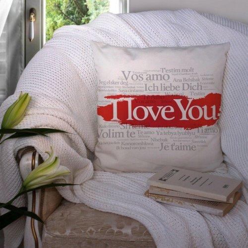 Poduszka na Walentynki 40x40 W100 I Love You