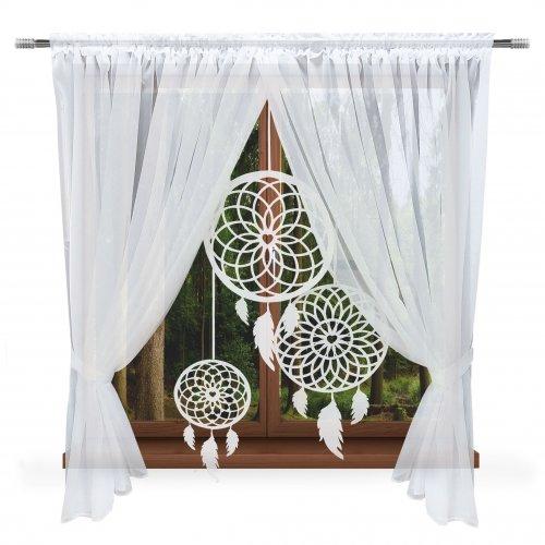 Firany panelowe do salonu 400x150 łapacz snów 844-01