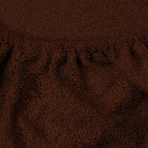 Prześcieradło do łóżeczka z gumką FROTTE HOME 194-29 brązowy