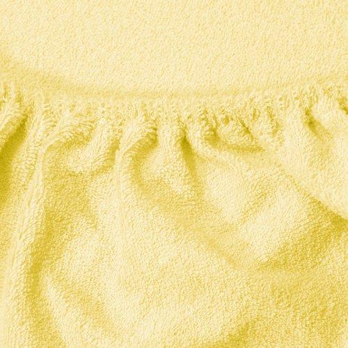 Prześcieradło do łóżeczka z gumką FROTTE HOME 194-78 waniliowy