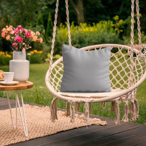 Wodoodporna poduszka ogrodowa 50x50 434-03-31 szary jasny