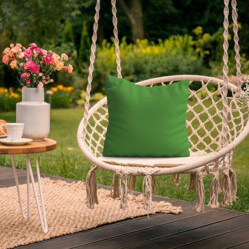 Wodoodporna poduszka ogrodowa 50x50 434-31-25 zieleń trawiasta