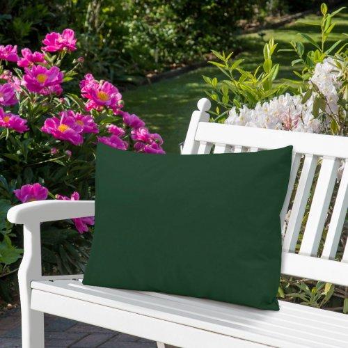 Wodoodporna poduszka ogrodowa 50x70 434-71-26 zieleń butelkowa