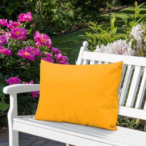 Wodoodporna poduszka ogrodowa 50x70 434-40-05 żółty