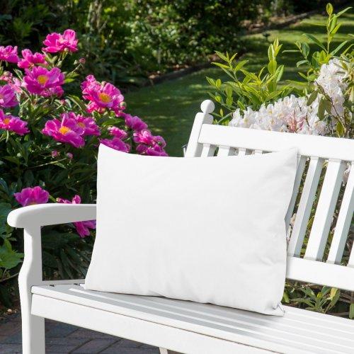 Wodoodporna poduszka ogrodowa 50x70 434-33-01 biały