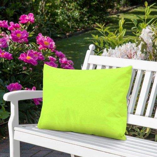 Wodoodporna poduszka ogrodowa 50x70 434-35-96 limonka jasna