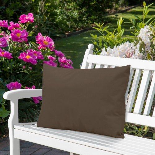 Wodoodporna poduszka ogrodowa 50x70 434-22-28 brąz jasny