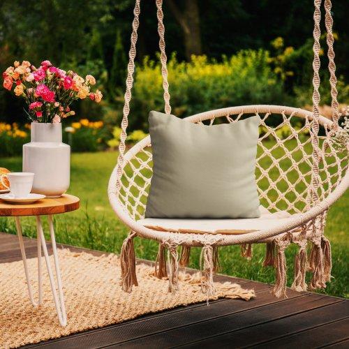 Wodoodporna poduszka ogrodowa 50x50 434-17-35 beż jasny