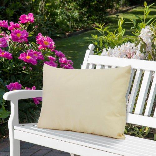 Wodoodporna poduszka ogrodowa 50x70 434-17-35 beż jasny