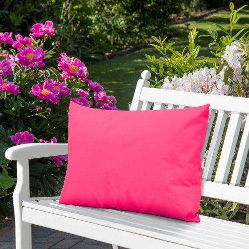 Wodoodporna poduszka ogrodowa 50x70 434-34-11 róż mocny