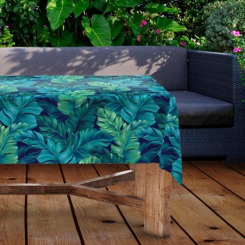 Obrus na stół ogrodowy wodoodporny D434-219 Liście