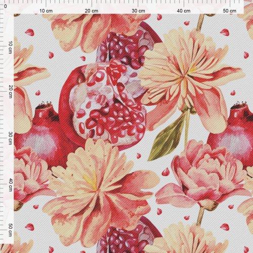 Obrus na stół ogrodowy wodoodporny D434-281 Kwiaty