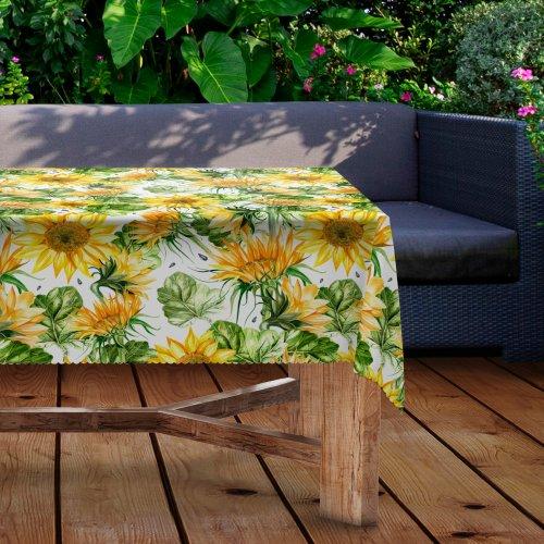 Obrus na stół ogrodowy wodoodporny D434-291 Słoneczniki
