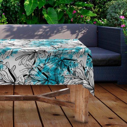 Obrus na stół ogrodowy wodoodporny D434-293