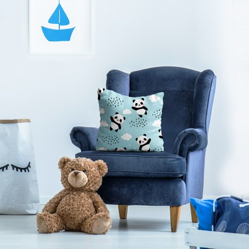 Poszewka dekoracyjna dla dzieci D404-336-01 pandy