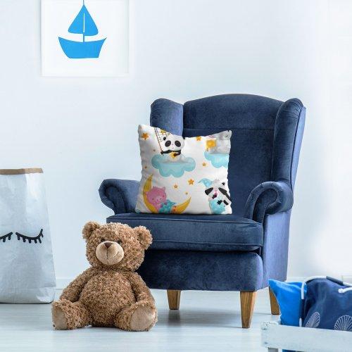 Poszewka dekoracyjna dla dzieci D404-341-01 na dobranoc