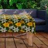 Obrus na stół ogrodowy wodoodporny V434-100 Lilie