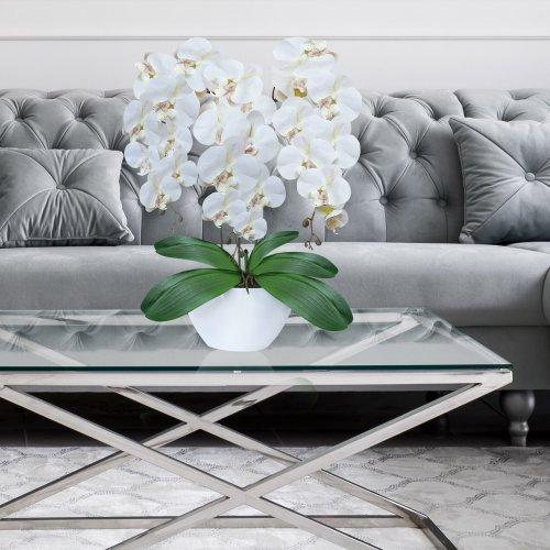 Sztuczny Storczyk Orchidea 3 pędowy 70cm 861-01 B