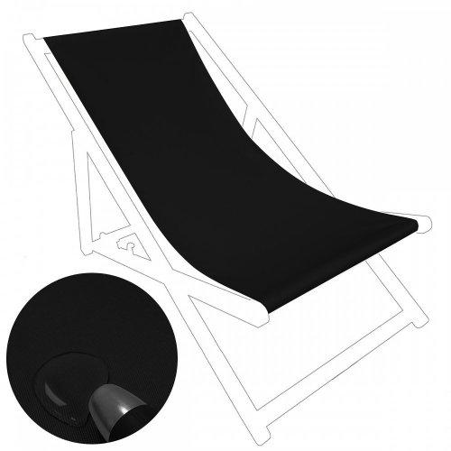 Siedzisko na nasz leżak drewniany 434-01-34 czarne