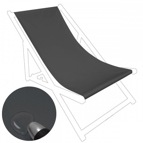Siedzisko na nasz leżak drewniany Standard 434-02-62 grafitowe