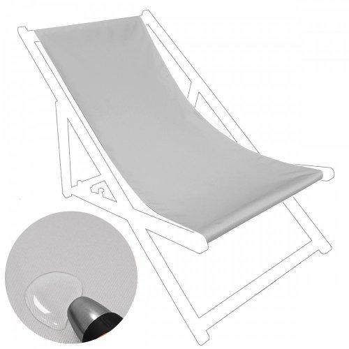 Siedzisko na nasz leżak drewniany Standard 434-03-31 szare jasne