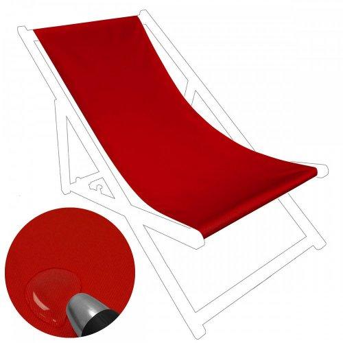 Siedzisko na nasz leżak drewniany Standard 434-10-99 czerwone jasne