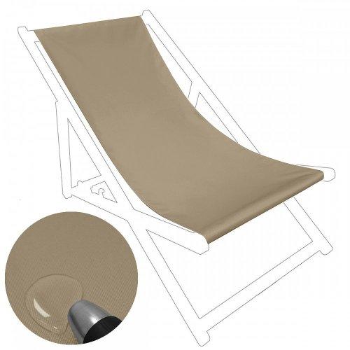Siedzisko na nasz leżak drewniany Standard 434-21-36 beż ciemny