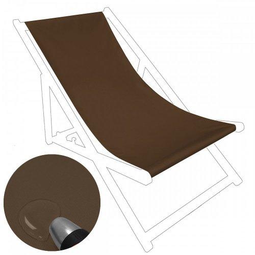Siedzisko na nasz leżak drewniany Standard 434-22-28 brązowe jasne