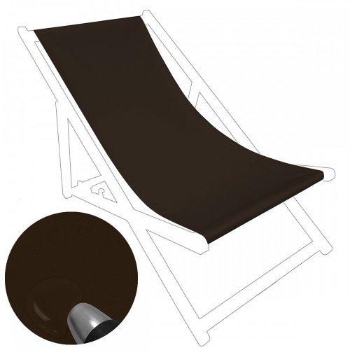 Siedzisko na nasz leżak drewniany Standard 434-27-29 brązowe ciemne