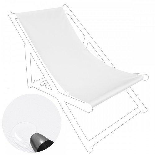 Siedzisko na nasz leżak drewniany Standard 434-33-01 białe