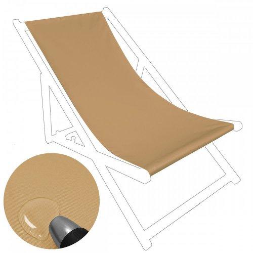 Siedzisko na nasz leżak drewniany Standard 434-37-57 latte