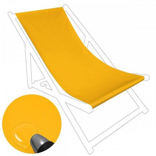 Siedzisko na nasz leżak drewniany Standard 434-40-05 żółte