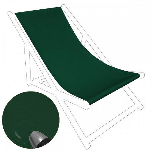 Siedzisko na nasz leżak drewniany Standard 434-71-26 zieleń butelkowa