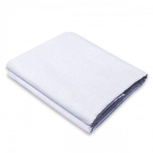 Tradycyjne prześcieradło bawełniane LUKSUSOWE 828-01 białe