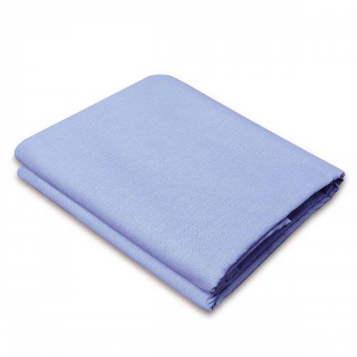 Tradycyjne prześcieradło bawełniane LUKSUSOWE 828-14 błękitne