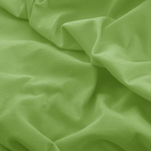 Prześcieradło do łóżeczka z gumką JERSEY HOME 195-22 oliwkowy