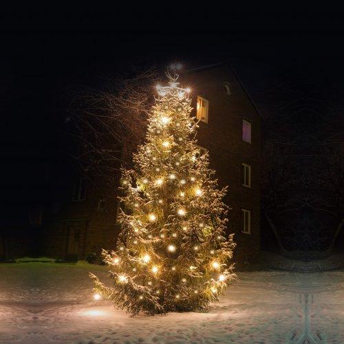 Lampki choinkowe z flashem 1000 LED 871-01 ciepły biały