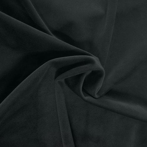 Zasłona welurowa Velvet na przelotkach 260g 140x250 873-61 grafitowa