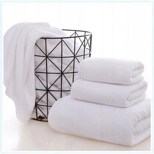 Hotelowy ręcznik bawełniany PURE KING 50X100 BIAŁY 550gsm
