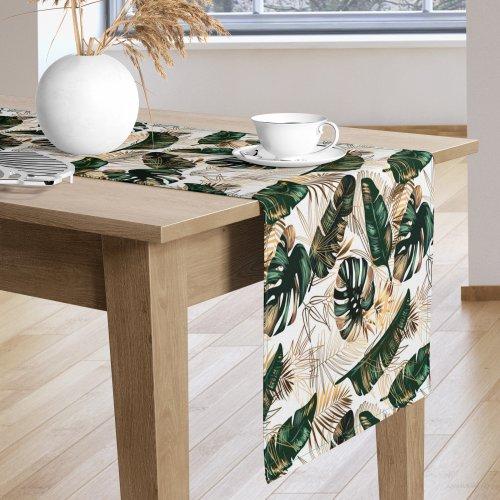 Bieżnik na stół kolorowy D404-325-01 Egzotyczne klimaty