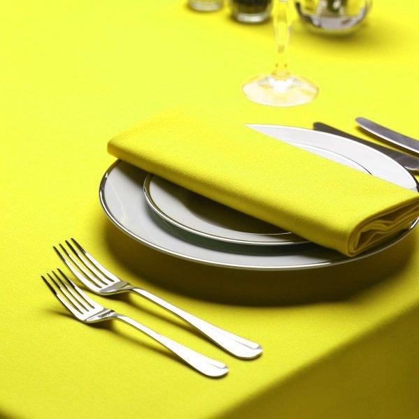 Obrus Cotton Mat Żółty