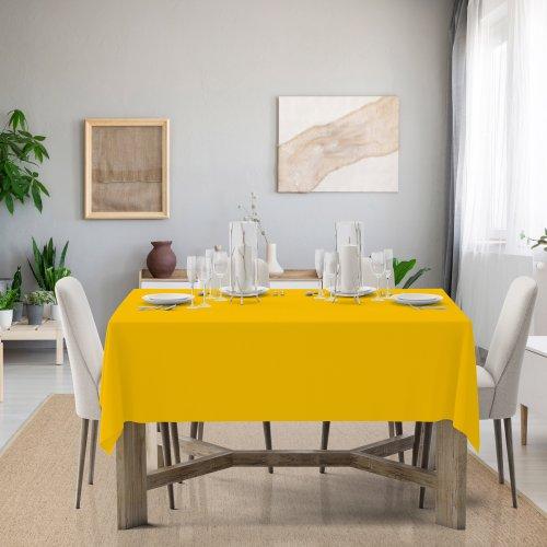 Obrus na stół Classic U404-05 żółty