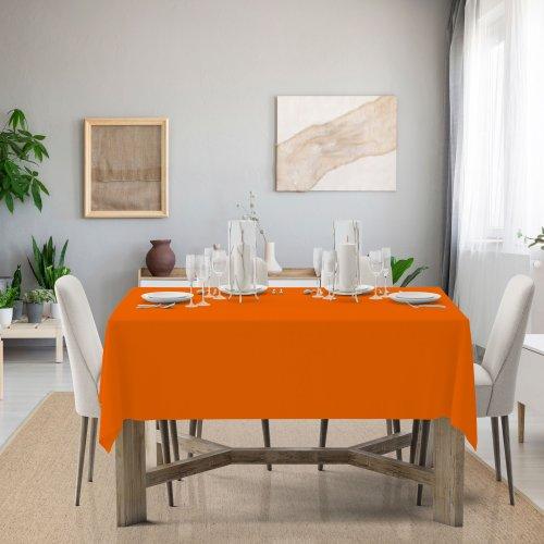 Obrus na stół Classic U404-06 pomarańczowy